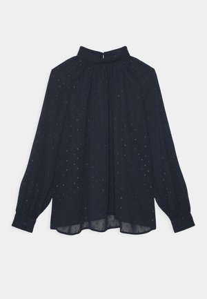 BLOUSE AUDREY - Long sleeved top - dark blue