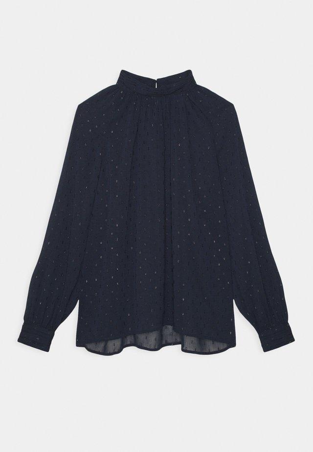 BLOUSE AUDREY - Langærmede T-shirts - dark blue