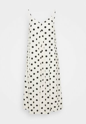 VMNORA NEW SINGLET CALF DRESS - Day dress - birch/black