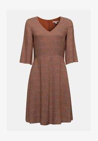 Esprit - LIGHT WOVEN - Denní šaty - rust brown - 6