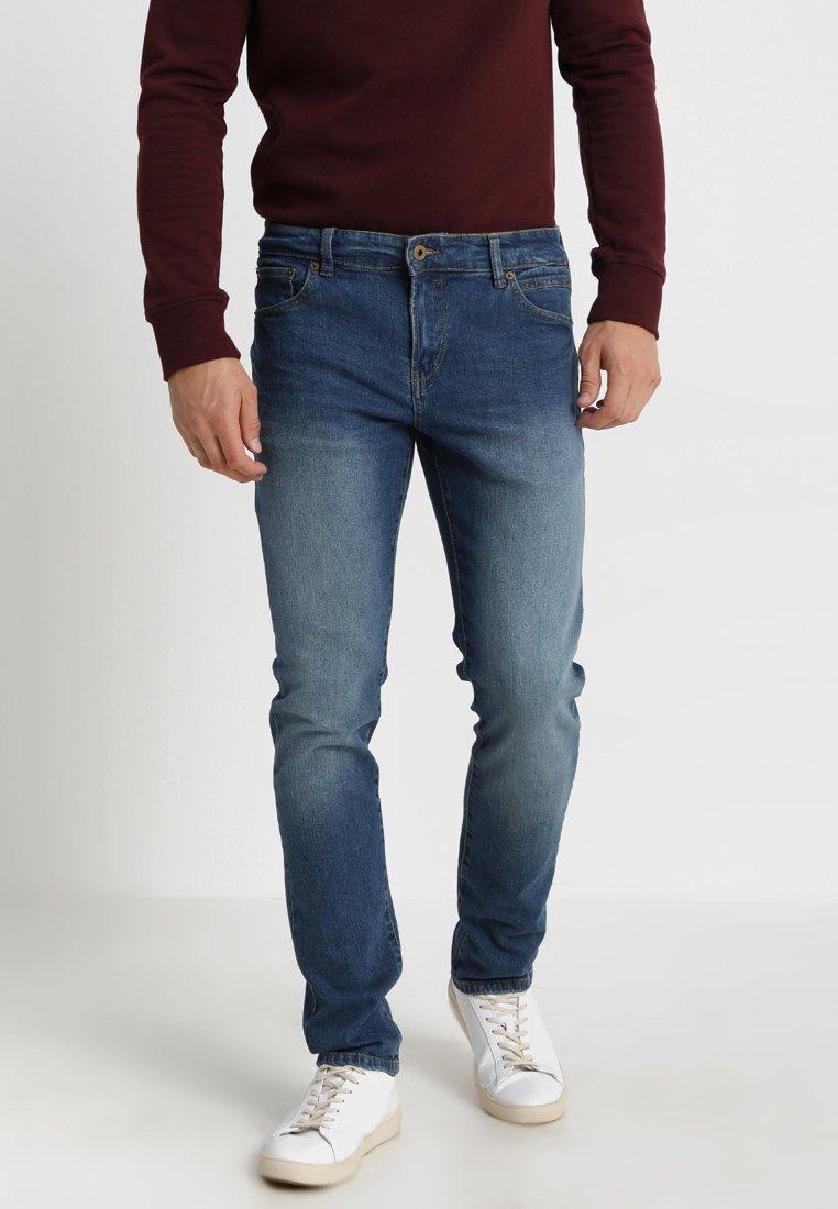 Solid - RYDER - Straight leg jeans - blue denim