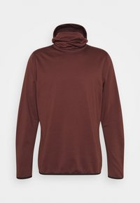 CLIME HOODED  - Hoodie - bitter chocolate