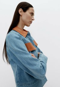 Uterqüe - Denim jacket - blue - 4