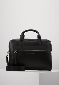 Tommy Hilfiger - COMPUTER BAG - Laptoptas - black - 0