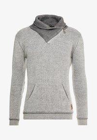 INDICODE JEANS - DANE - Strickpullover - light grey - 5