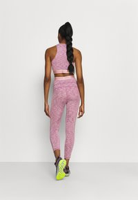 Nike Performance - CROP - Medias - sweet beet/pink glaze/white - 2