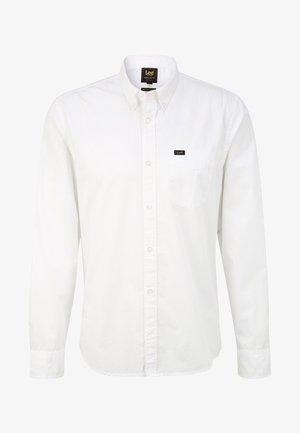BUTTON DOWN - Overhemd - white