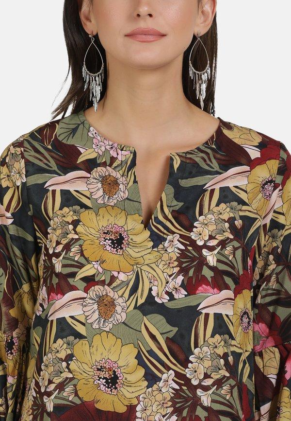 usha BLUSE - Bluzka - flower print/wielokolorowy YSFA