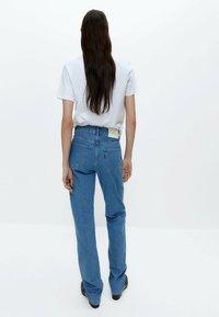 Uterqüe - Straight leg jeans - blue denim - 2