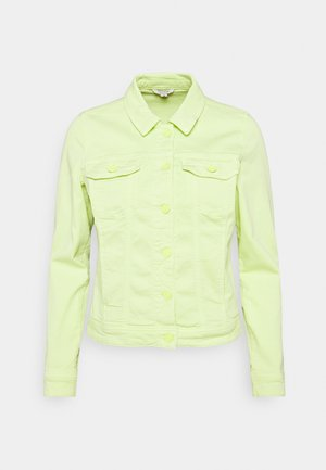 Denim jacket - lime