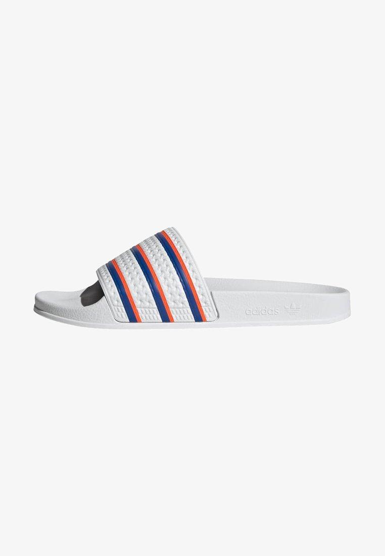 adidas Originals - ADILETTE SLIDES - Sandali da bagno - white