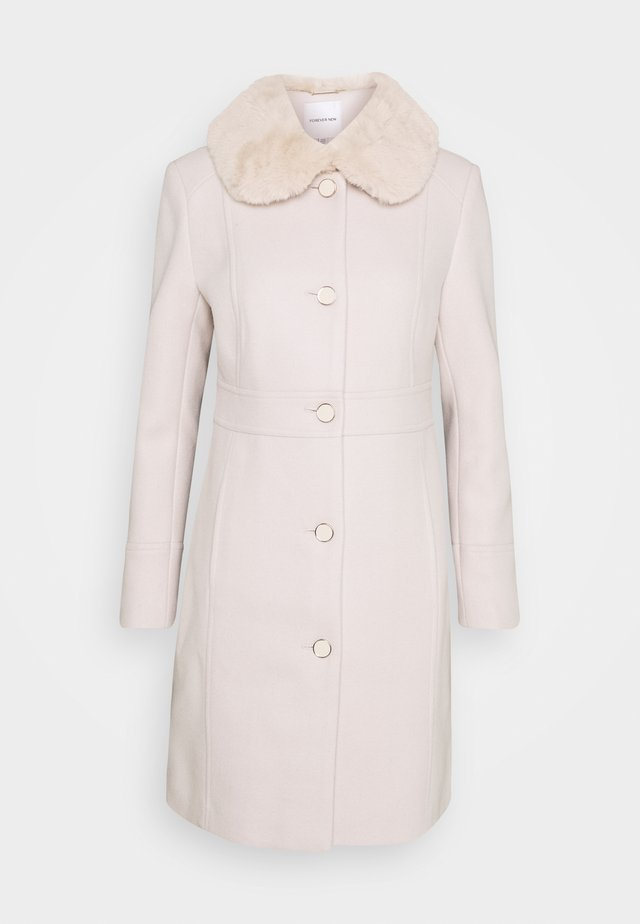 LINDA DOLLY - Classic coat - cream
