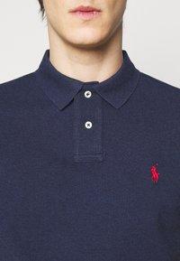 Polo Ralph Lauren - CUSTOM SLIM FIT MESH POLO - Polo shirt - spring navy heather - 4