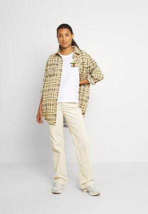 ECHO - Pantalon classique - off-white