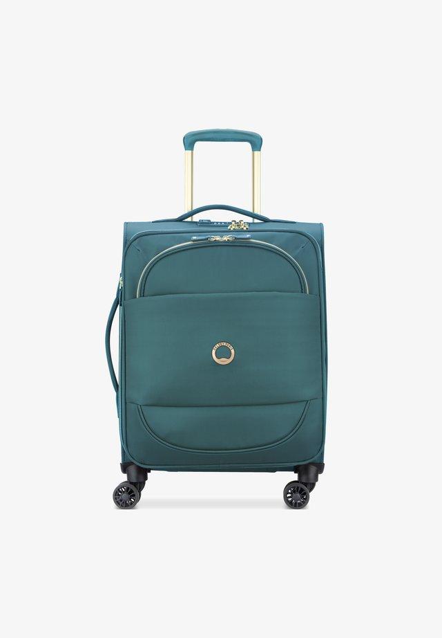 MONTROUGE 4-ROLLEN KABINENTROLLEY - Wheeled suitcase - grün