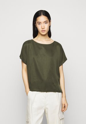 SOMIA - Basic T-shirt - grün