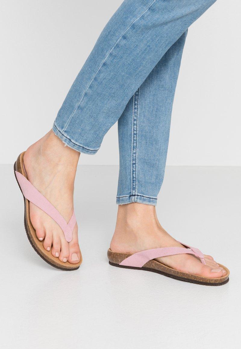 Scholl - TISTOIS - Sandalias de dedo - rose clair
