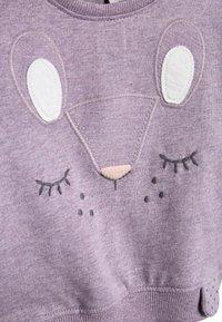 Next - LILAC CHARACTER SWEAT TOP AND LEGGINGS SET (0MTHS-2YRS) - Sweatshirt - purple - 4