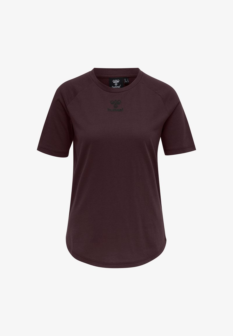 Hummel - HMLVANJA - T-shirts - brown