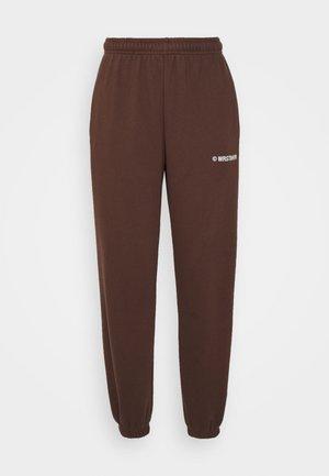 DARI PANTS - Joggebukse - brown