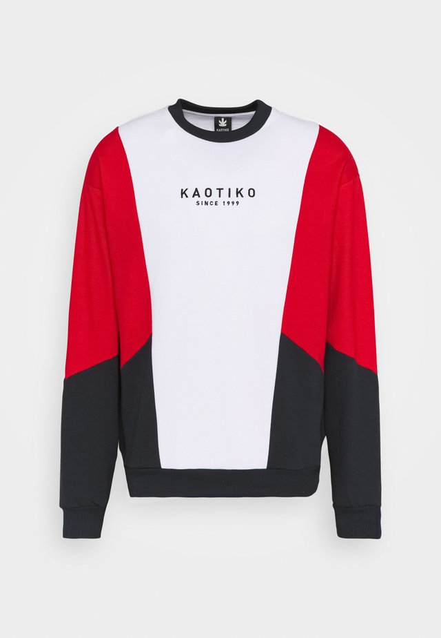 CREW UNISEX - Sweatshirt - red