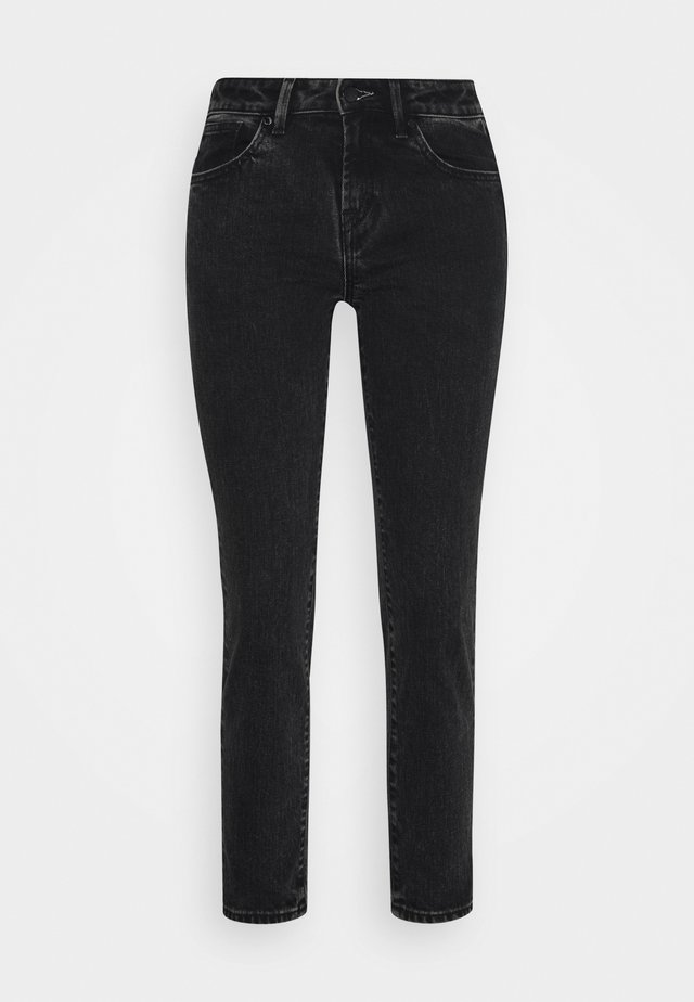ANKLE - Jeans Skinny Fit - black