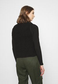 ONLY - ONLDORINA  VEST - Waistcoat - black - 2