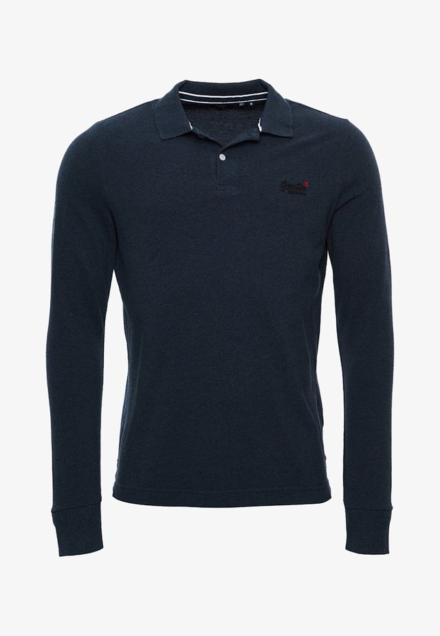 Polo - twisted black grit