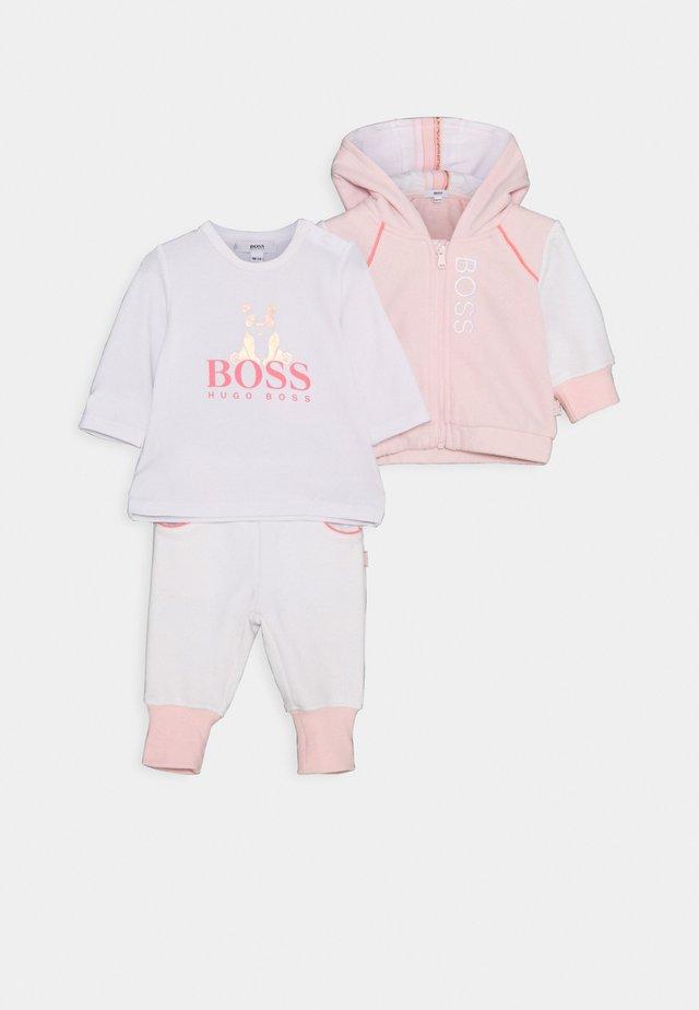 BABY SET - Survêtement - pink/white