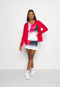 Lacoste Sport - HOOD JACKET - Zip-up sweatshirt - rouge - 1