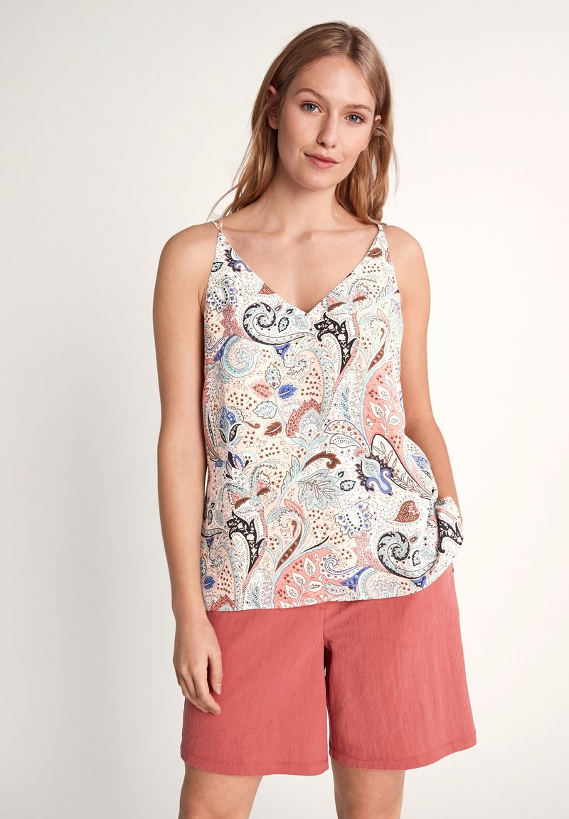 comma - Top - make up paisley