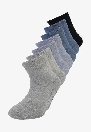 QUARTER 7 PACK - Socks - jeans mix