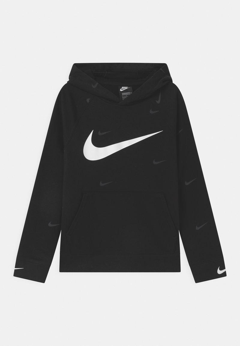 Nike Sportswear - HOODED UNISEX - Bluza z kapturem - black/white