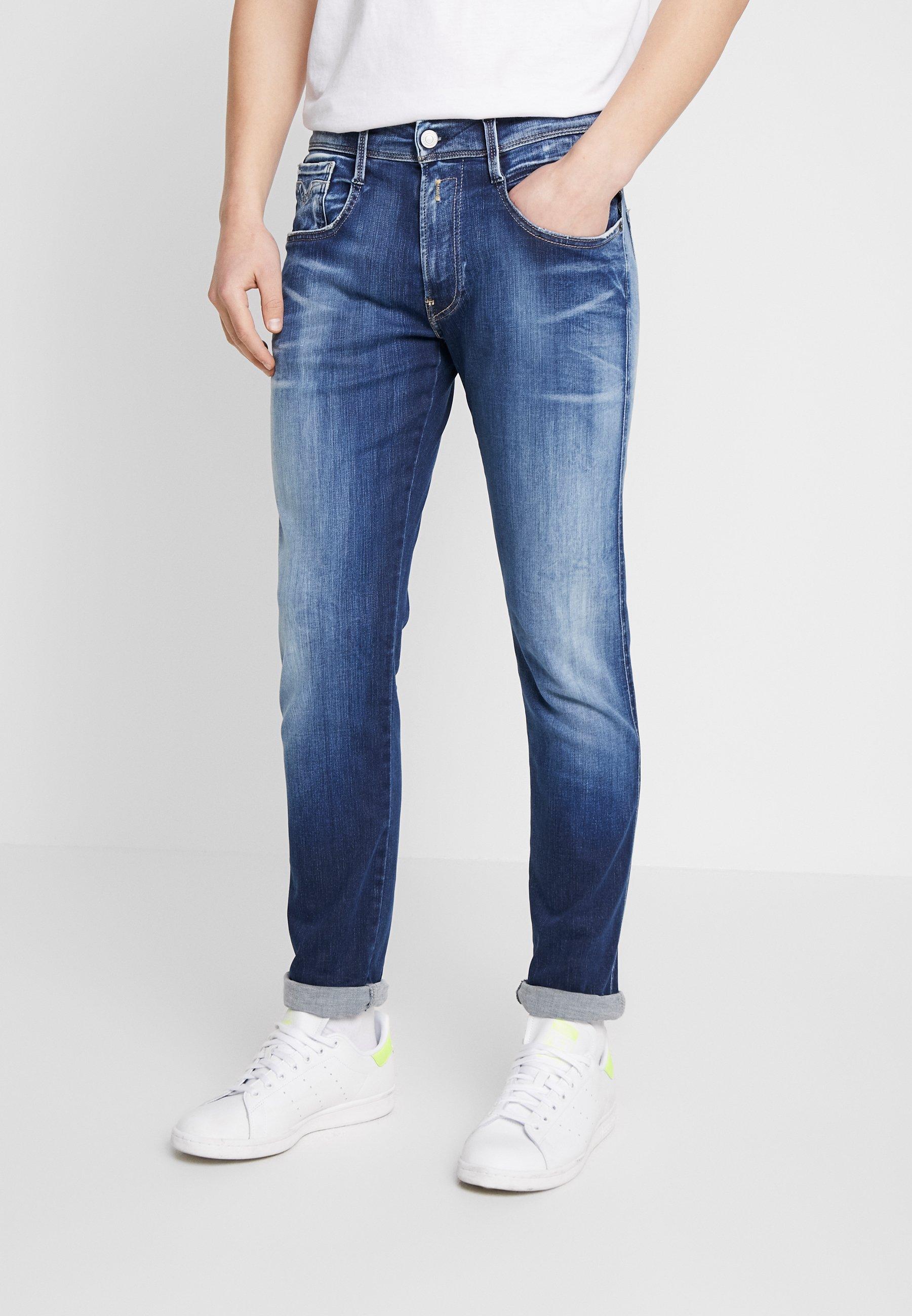 Uomo ANBASS HYPERFLEX BIO - Jeans slim fit