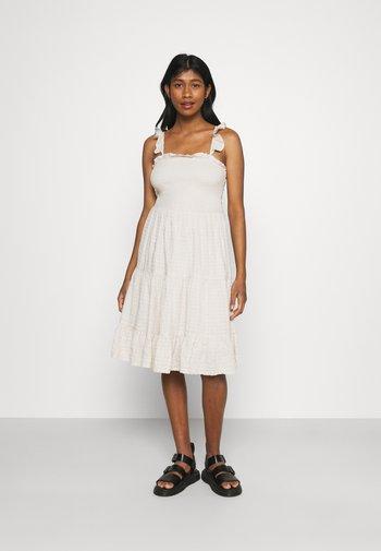 ONLPELLEA LIFE STRAP DRESS - Day dress - pumice stone