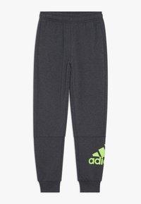 adidas Performance - Pantalones deportivos - mottled dark grey - 0