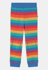 Frugi - FAVOURITE CUFFED RAINBOW - Tracksuit bottoms - rainbow - 0