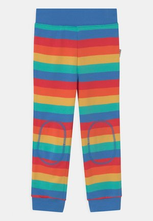 FAVOURITE CUFFED RAINBOW - Tracksuit bottoms - rainbow