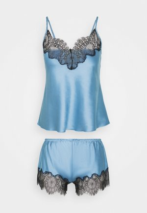 TOP WITH FRENCH KNICKERS - Pyjamaser - sky blue