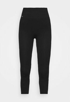 LOUNGE CROPPED PANTS - Pantaloni del pigiama - black