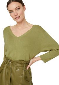 comma - LANGARM - Jumper - spring green - 0