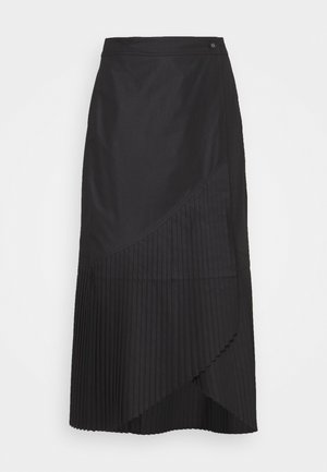BLAZE SKIRT - Plooirok - black
