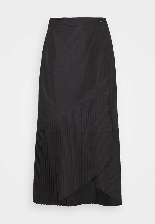 BLAZE SKIRT - Jupe plissée - black