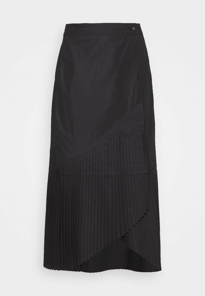 Henrik Vibskov - BLAZE SKIRT - Plisovaná sukně - black