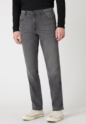 TEXAS - Straight leg jeans - silver smooth
