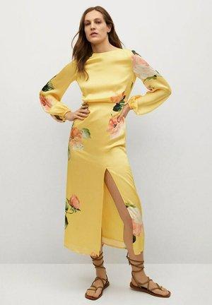 Day dress - gelb