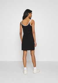 Fila - HOPE SPAGHETTI STRAP DRESS - Sukienka z dżerseju - black - 2