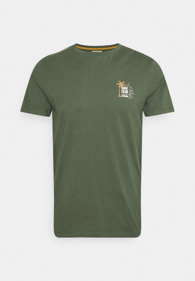 RYDER TEE UNISEX - Camiseta estampada - thyme