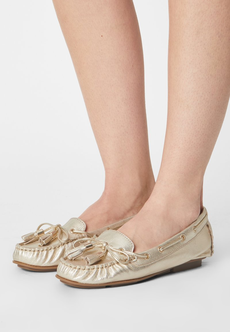 Anna Field - LEATHER - Moccasins -  gold