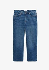 Violeta by Mango - ELIA - Straight leg jeans - middenblauw - 4